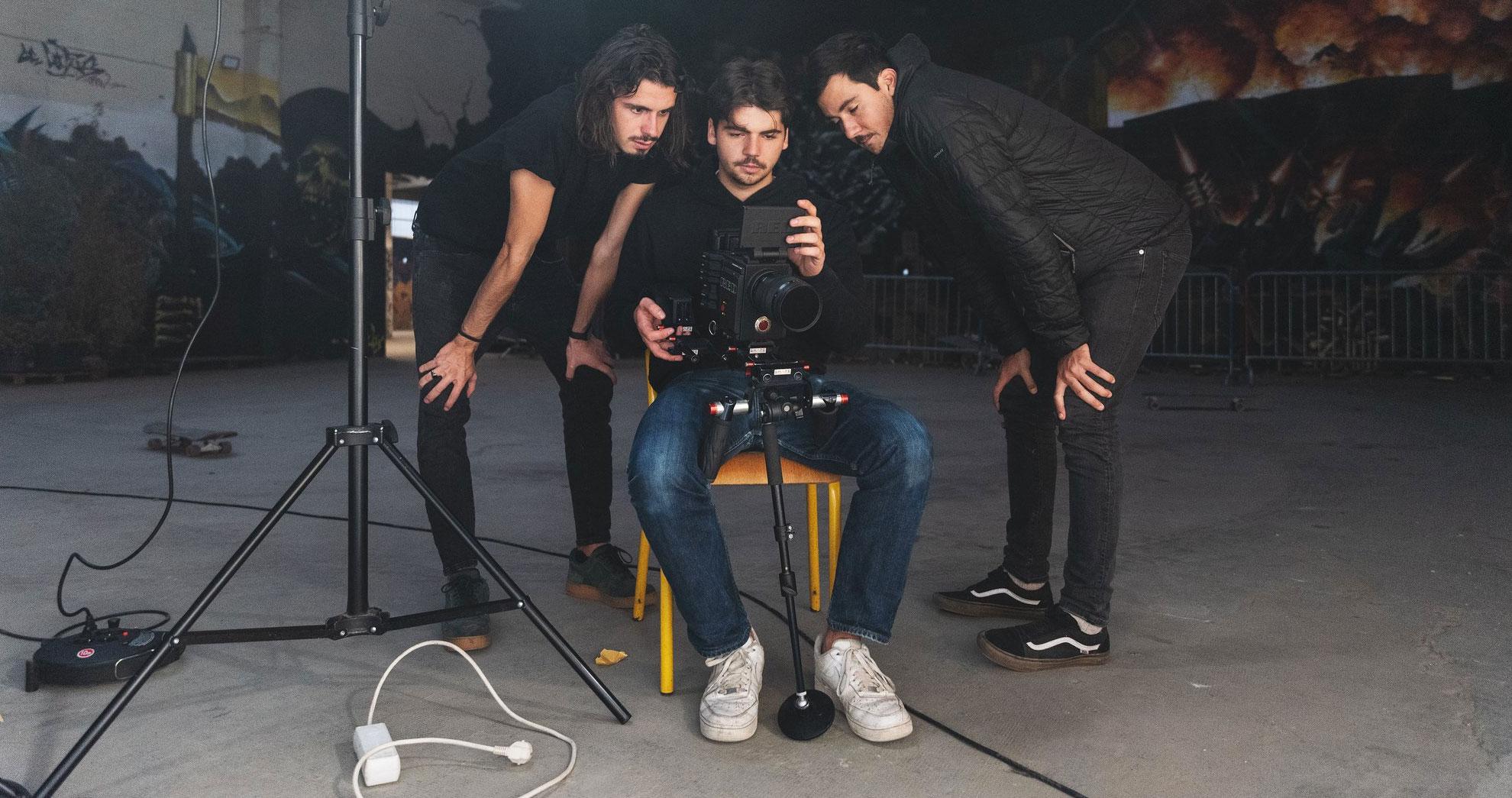 Sur le tournage de Lombre
