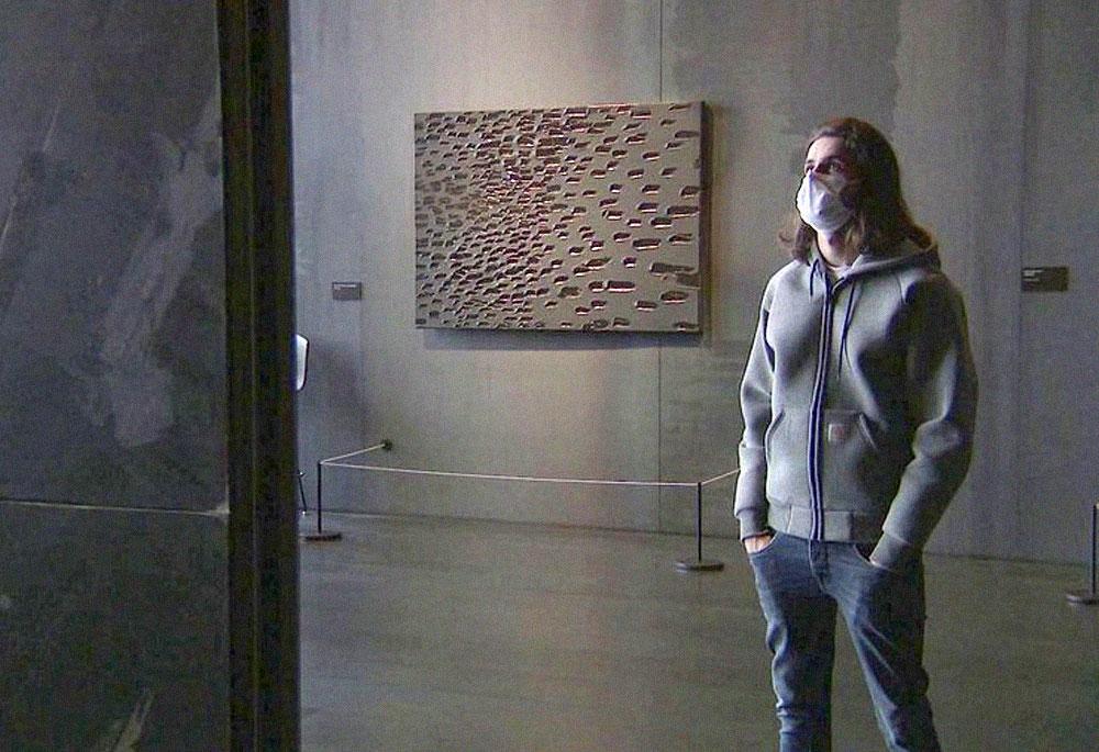 Au musée Soulages pour un reportage France 3 !