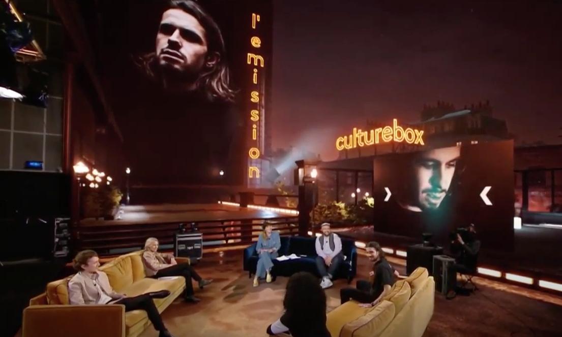 Daphné Bürki et Raphäl invitent Lombre dans l'émission Culturebox. Le replay.
